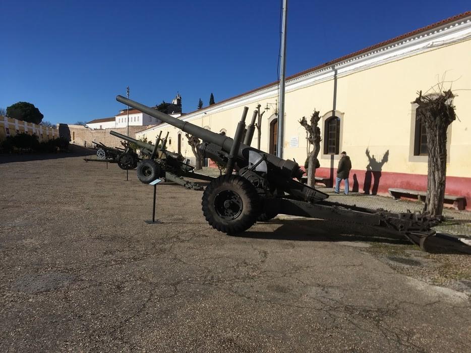 Peças artilharia. MM Elvas. Foto Pedro Rodrigues