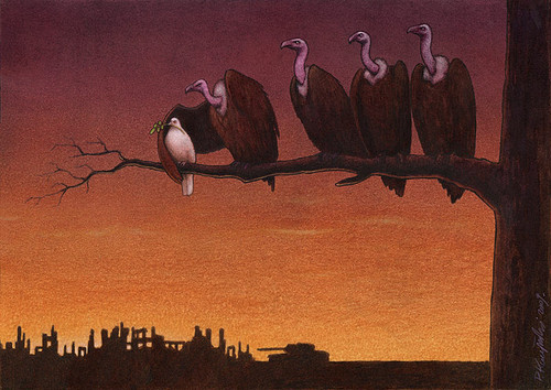 abutres = interesses de politiqueiros