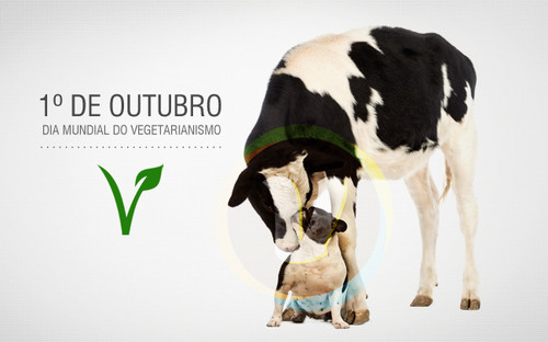 vegetariana aos 30 -  dia mundial do vegetarianism