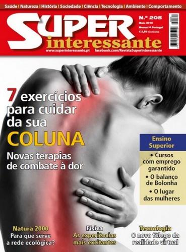 Super Interessante Portugal – Nº 205 Maio (2015