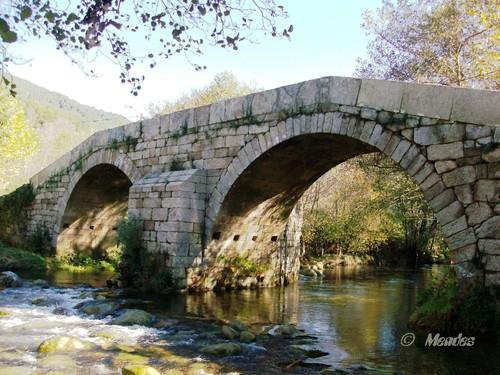 Vila de Cerva - Ponte Romana sobre o Rio Póio