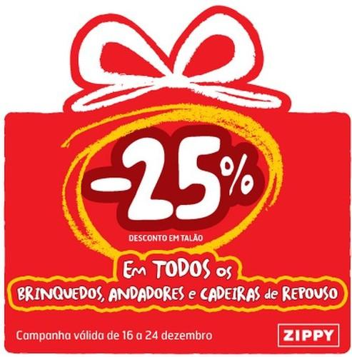 25% de desconto talão | ZIPPY | Brinquedos, Andadores e Cadeiras de Repouso