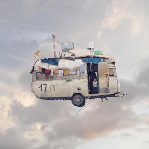 Laurent Chéhère  Flying Houses.jpg