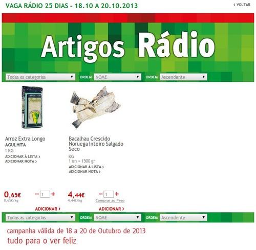 Artigo Rádio   JUMBO   de 18 a 20 Outubro