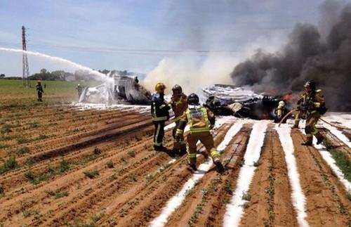 avião caiu espanha.jpg