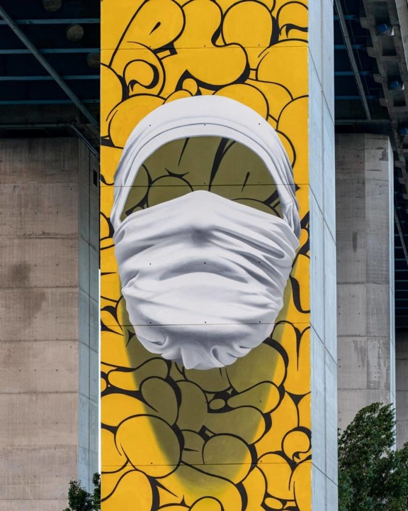 """1 """"Shirt Mask SOW03"""" by Nuno Viegas in Lisbon,"""