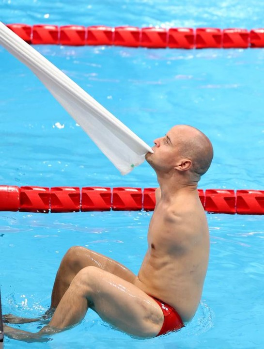 Igor Plotnikov of the Russian Paralympic Committee