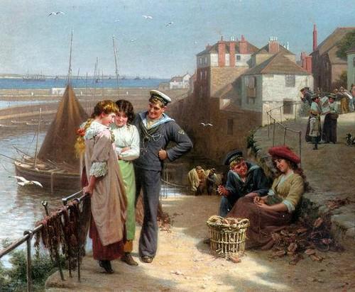 Edwin Thomas Roberts - Naval Manoeuvres