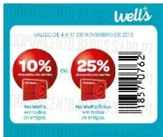 85% em Maquilhagem na | WELLS |, a 4 novembro