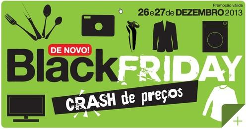 Black Friday   EL CORTE INGLÉS   dias 26 e 27 dezembro