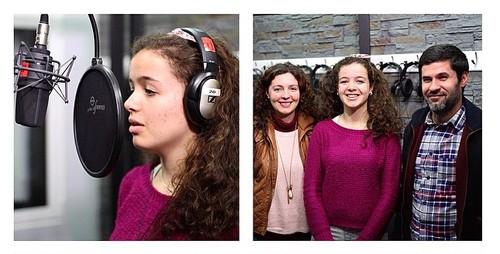 Fotografia - gravação canções - Janeiro 2015 -