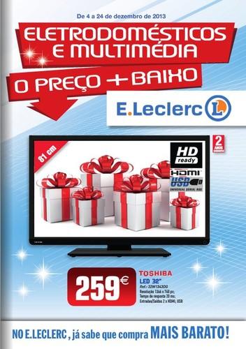 Antevisão folheto   E-LECLERC   Nacional de 4 a 24 dezembro