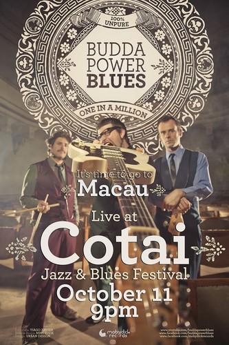 Budda Power Blues in Macau!