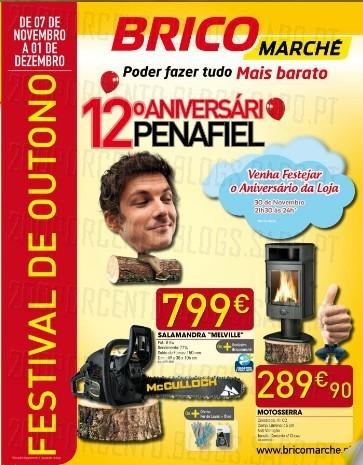 Novo Folheto   BRICOMARCHÉ   Penafiel especial Aniversário, de 7 novembro a 1 dezembro