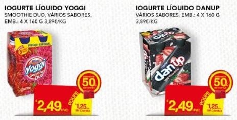 Acumulação 75% de Desconto | CONTINENTE | Iogurtes