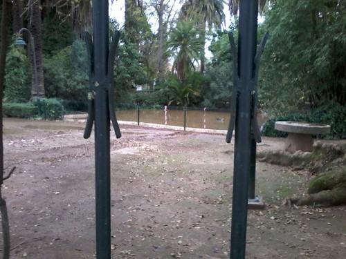 Serpa: Este jardim público não é...