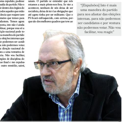 Expresso de Fafe Ribeiro entrevista