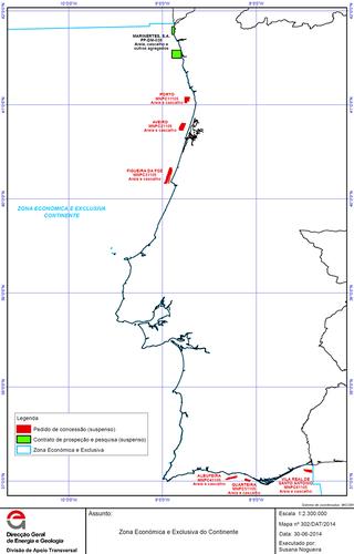Exploração de petróleo no Offshore de Portugal