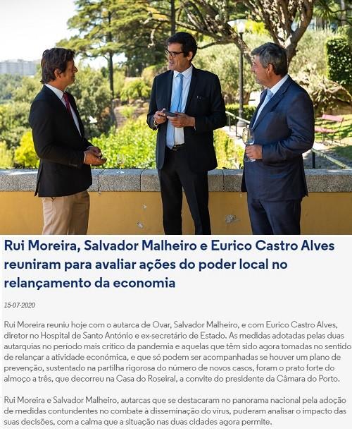 #mno_almoço_Rui_Moreira_Salvador_Malheiro_Eurico