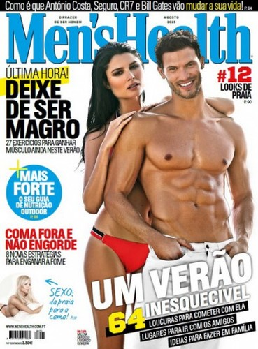 Men's Health Portugal – Nº 170 Agosto (2015).