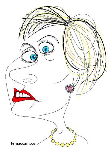 Hillary Clinton_caricatura