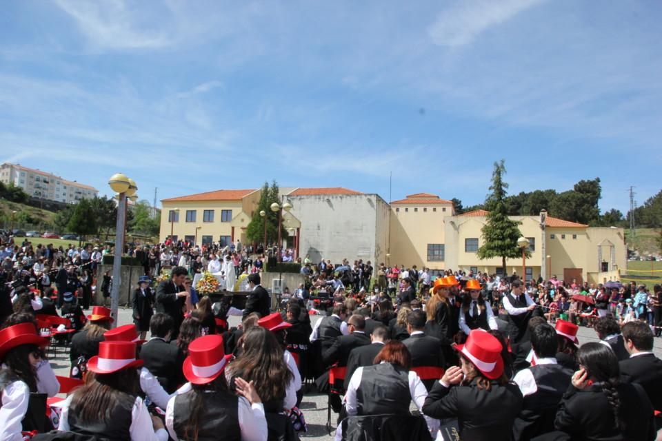 Missa de Finalistas na Guarda - foto Helder Sequei