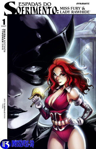 Swords of Sorrow- Miss Fury-Lady Rawhide Special -