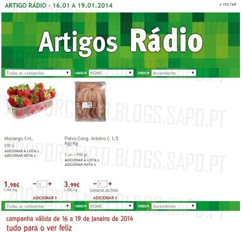 Artigos rádio | JUMBO | de 16 a 19 janeiro