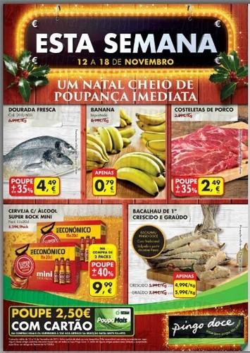 Novo Folheto | PINGO DOCE | já Online de 12 a 18 novembro