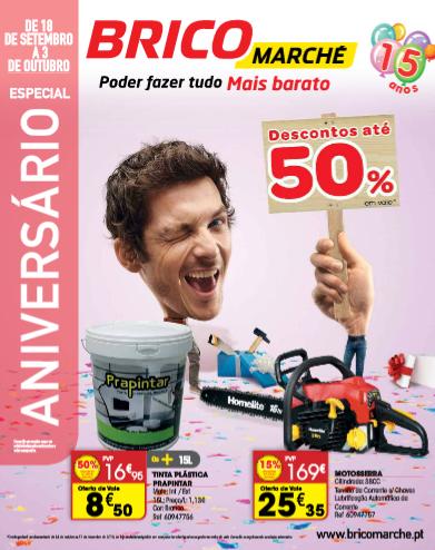 Folheto Bricomarché de 18 Setembro a 3 Outubro
