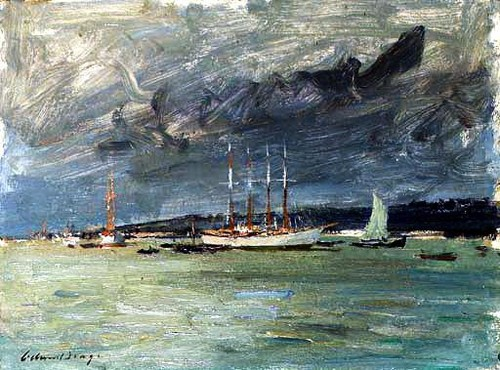 Edward Seago - on the tagus