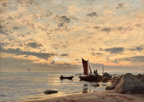 World Class Painting by *Amaldus Clarin Nielsen* (