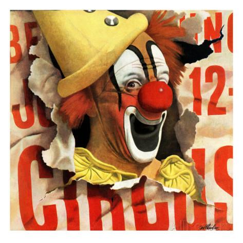 john-atherton-circus-clown-and-poster-july-8-1944.