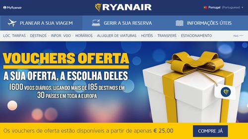 Ryanair - Vales de viagens