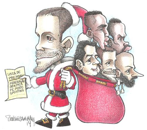 O outro lado do Pai Natal...