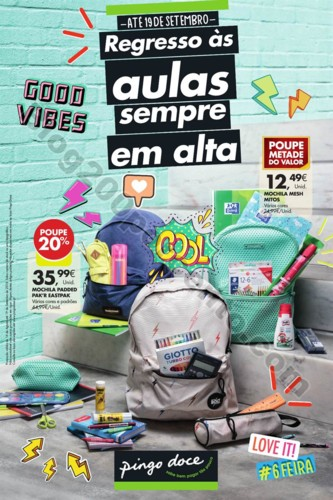 Antevisão Folheto PINGO DOCE Regresso às aulas p