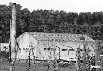 Cerva - Oficina de Preparação Mecânica das Minas de Volfrâmio - Lavaria do Penoso.
