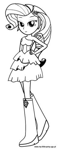 desenhos para colorir esquestria girl.jpg