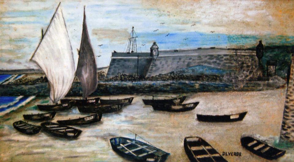 1 - Ilustração de Domingos Luís Verde, o Pinga.