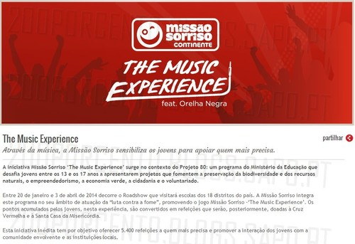 Missão Sorriso | CONTINENTE | The music experience