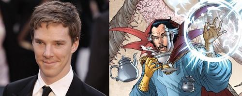 02541ee084a Doctor Strange vai ser interpretado por Benedict Cumberbatch ...