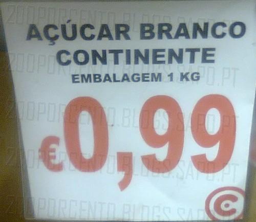 Açucar Branco a 0,99€