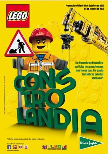 Promoção Lego   EL CORTE INGLÉS  , até 5 Janeiro 2014