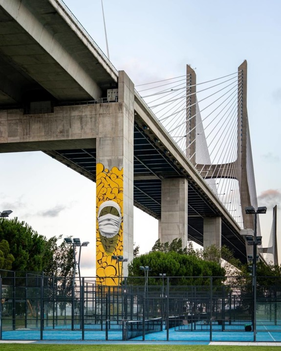 """3 """"Shirt Mask SOW03"""" by Nuno Viegas in Lisbon,"""