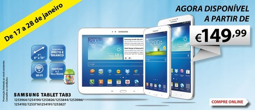 Promoção | RADIO POPULAR | Samsung TAB3