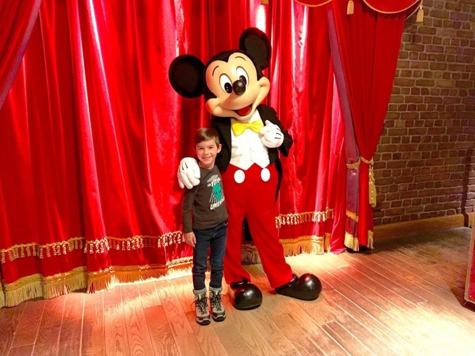 Luca e o Rato Mickey