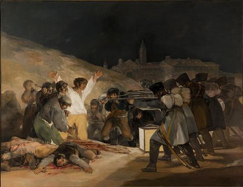 El Tres de Mayo, de Francisco Goya from Prado Muse