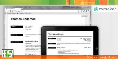 Criar Curriculum Vitae online na internet gratuitamente