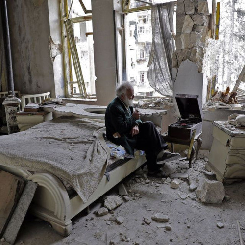AFP Photo By Joseph Eid --- Aleppo.jpg