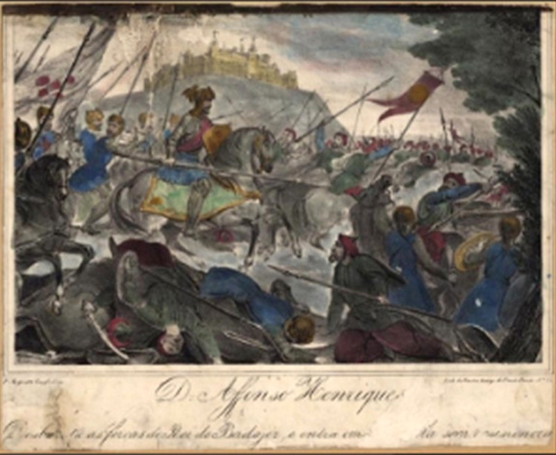 D. Afonso Henriques desbarata as forças do Rei de